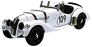 AUTOart 1/18 racing series BMW 328 roadster '38 Mille Miglia # 109 (White) (japan import)