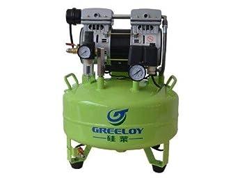 Bestdental bs-ga-61 Compresor De Aire Silencioso Sin Aceite Oilless motores 24L tanque 600 W 118L/min uno por uno dental silla: Amazon.es: Salud y cuidado ...