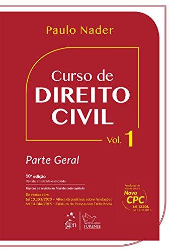 Curso de Direito Civil - Volume 1