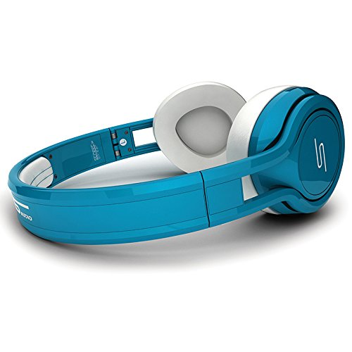SMS Audio STREET by 50 Cent On Ear Headphones - Teal by SMS Audio