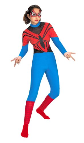 (Girls and Teen Spidergirl Costume -)