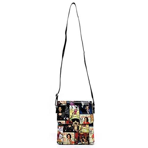 wallets Michelle and cover 9 Glossy purses bag clutches magazine Obama collage Cross Body bags crossbody 8xzFwa4q