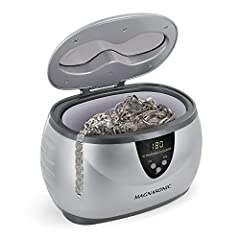 Cleans dirty jewelry, eyeglasses, watches, utensils and moreYou wonâ€t believe how your items will shine with just water! Simply fill the tank with water, insert your items, and youâ€ll see professional jewelry cleaning results. A bit of liqu...