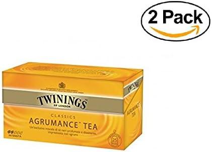 Twinings - Tè Negro - Agrumance (50 Bolsas): Amazon.es: Alimentación y bebidas