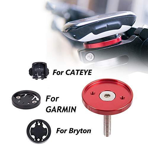 Powerfulline MTB Road Bike Bicycle Stopwatch GPS Mount Holder Stand for Garmin Bryton CATEYE