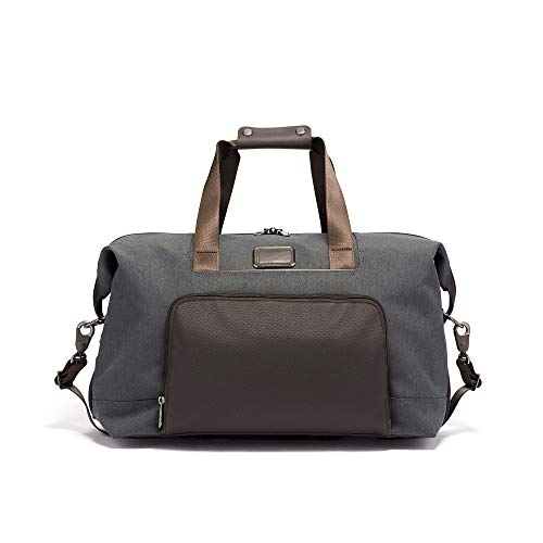 (TUMI - Alpha 3 Double Expansion Travel Satchel - Duffle Bag for Men and Women - Anthracite)