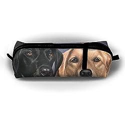 fdb1cee21e477 Golden Retriever Dog Pencil Case Cosmetic Makeup Bag Pouch Purse For School  Office Travel