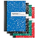 Office Depot Mini Marble Composition Books, 3 1/4in x 4 1/2in, Narrow Ruled, 80 Sheets, Assorted Colors (No Color Choice), pk Of 4, 4170736