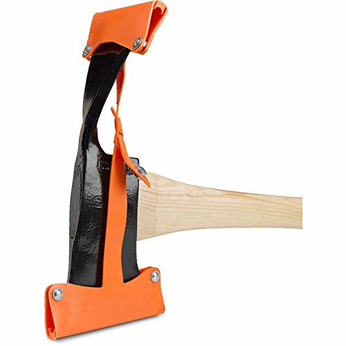 Council Tool 3.75 Inch Pulauski Axe, 36 Straight Handle with Protective Sneath by Council Tool