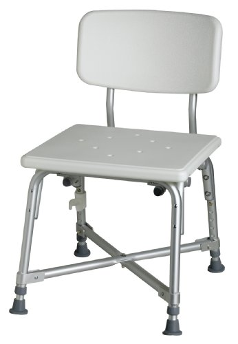 Medline Bariatric Aluminum Bath Bench
