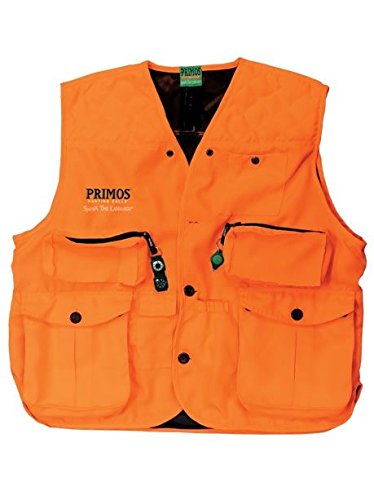Primos Gunhunter's Vest (Blaze Orange, X-Large) (Blaze Orange Safety Vest)