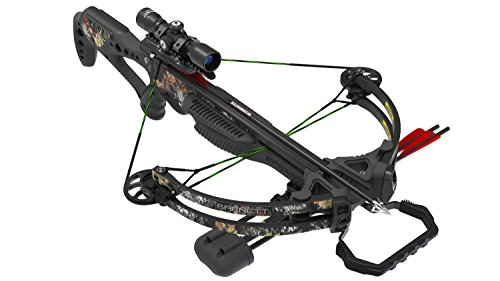 Barnett Rogue 78082 Crossbow Kit with RCD 4x32 x 40mm & Triggertech Quiver, One Size