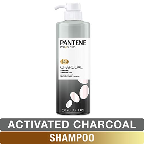 (Pantene, Shampoo, with Activated Charcoal, Pro-V Blends, 17.9 fl oz)