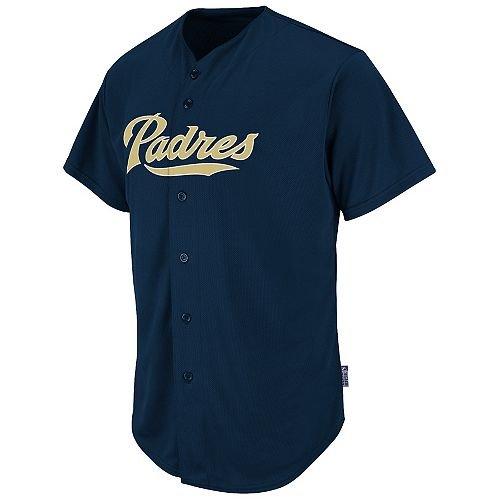 Adult Large San Diego Padres BLANK BACK Major League Baseball Cool-Base  Replica MLB Jersey eadad387f
