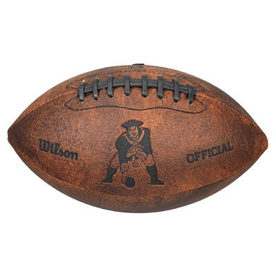 NFL Collectible Football NFL Team: New England Patriots by Wilson