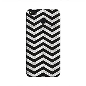 Cover It Up - Silver Black Tri Stripes Redmi 4 Hard case
