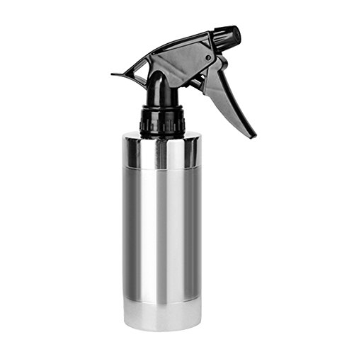 Stainless Steel Spray Bottle,SHZONS 280ML 304 Stainless Steel Watering Pot Beauty Salon Spray Bottle Sprinkler Flower Watering Sprayer Garden Kettle by SHZONS