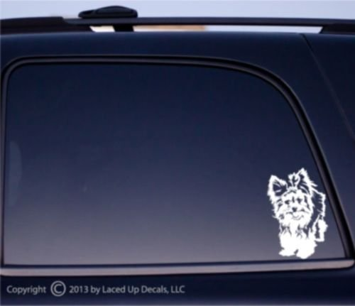 - Yorkshire Terrier dog Vinyl Decal small