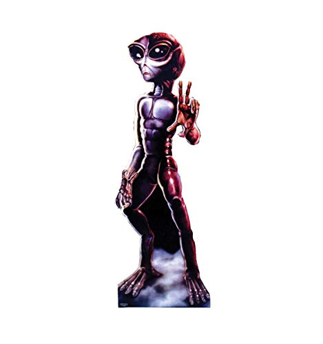 - Advanced Graphics Roswell Alien Female Life Size Cardboard Cutout Standup
