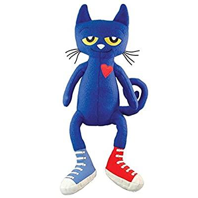 MerryMakers Pete the Cat Plush Doll, 28-Inch: Litwin, Eric, Dean, James: Toys & Games