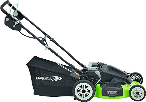 """Earthwise 20"""" Cordless 36 V Electric Lawn Mower"""