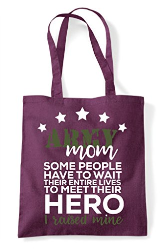 Meet Bag I Hero Raised To Mine People Plum Tote Mum Army Their Wait Shopper Some gBStnpS
