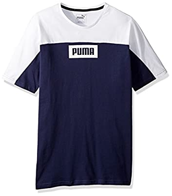 PUMA Men's Rebel Block T-Shirt