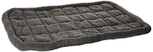Iconic Pet Premium Synthetic Sheepskin Handy Bed, 3X-Large, Grey