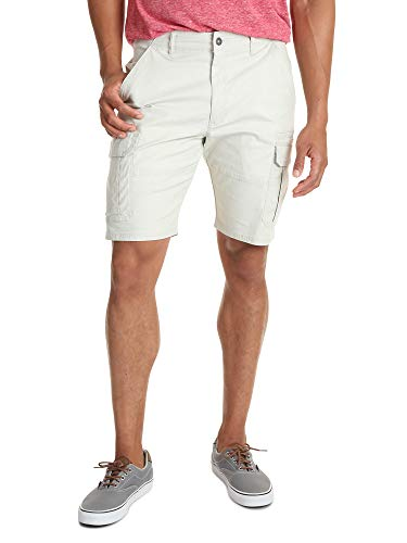 Wrangler Authentics Men's Classic Relaxed Fit Stretch Cargo Short, Dark Putty Ripstop 40