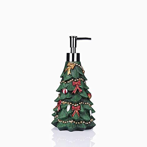 Greendisplay Christmas Tree Soap/Lotion Dispenser