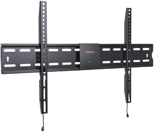 VideoSecu Ultra Slim Low Profile TV Wall Mount Bracket for Most 32 – 60 LCD LED Plasma LED HDTV TV with VESA 200×100 to 700x400mm Max Loading up to 66lbs WM0