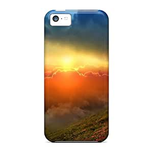 Durable Defender Cases For Iphone 5c Covers(spectacular Skies)