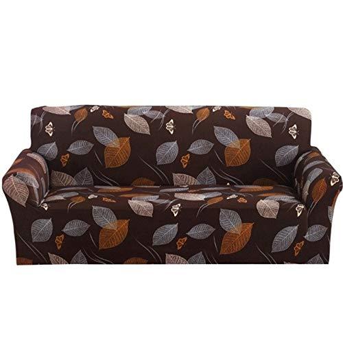 Farmerly Plum Blossom Flower Non-Slip Sofa Cover Spandex Stretchy Elastic Sofa Cover Case Slipcover All-Inclusive Furniture Cover   Style 6, 4 Seats