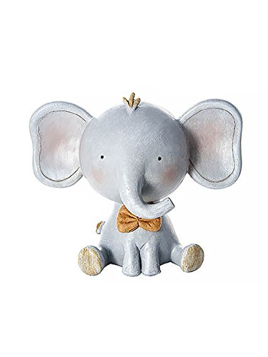 (Mousehouse Gifts Cute Grey Safari Elephant Money Box Toy Coin Savings Piggy Bank for Baby Kids Children Present Gift for Boys Girls)