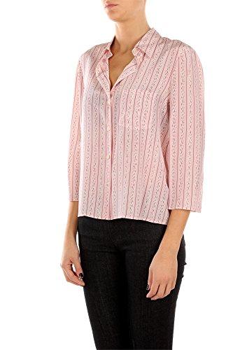 P4916ROSA Camisas Mujer Rosa Seda Prada Rosa RgwrR5