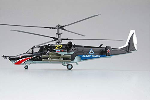 Easy Model Russian Air Force kamov Ka-50 Black Shark Attack Helicopter No22 1/72 ()