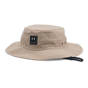 Under Armour Men's Training Bucket Hat, Desert Sand (290)/Black, One Size