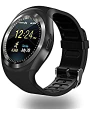 Y1 Smart Watch Rubber Band For Android,Black - Y1-002