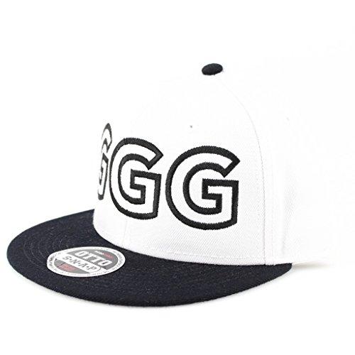 Ggg Flat Six Panel Pro Style Snapback Hat  2219