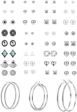 Hanpabum Assorted Multiple Earrings Geometric Fake product image
