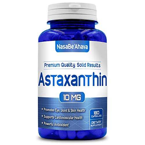 NASA BEAHAVA Astaxanthin 10mg Supplement