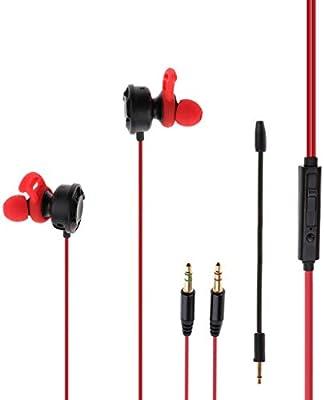 Baoblaze T2 Gaming Auriculares con Micrófono y Control de Volumen ...