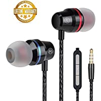 Earbuds Ear Buds Wired in Ear Headphones Stereo Earphones...
