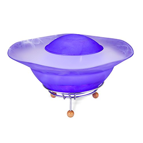 (CNZ Fantasy Tabletop Mist Fountain with 12-LED Color Changing, Purple)
