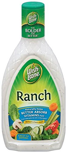 Wish Bone Ranch Salad Dressing 16oz (2 (Chipotle Ranch Dip Mix)
