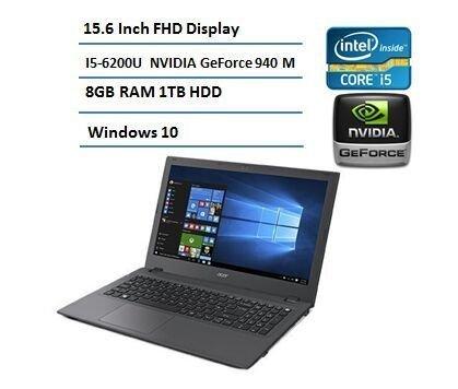 Acer E5-574G Aspire 54Y2, 15.6-inch, 6th Gen Core i5, NVIDIA GeForce 940M Laptop