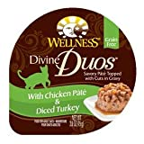 WELLPET-Wellness Divine Duos With Chicken P?t? & Diced Turkey 24/2.8oz