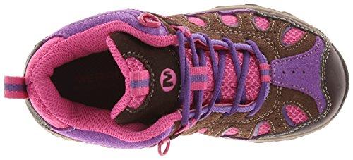 LC Merrell Trekking WTPF MID Brn Wanderstiefel amp; Multicolore CHAM Pink Jungen EqwqOrxa1