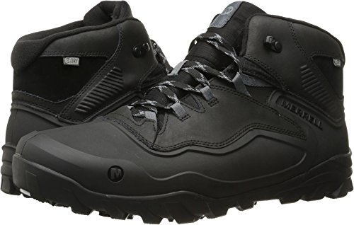 Merrell Men's Overlook 6 Ice + Waterproof Winter Boot, Black, 9 M - Mens Boot Conductor