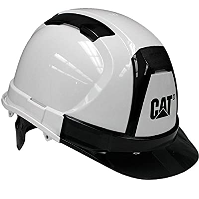 Cat Ratchet Suspension Hard Hat White